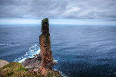 The Old Man of Hoy, a sea stack in Orkney Stock Images