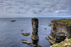 The Old Man of Hoy, a sea stack in Orkney Royalty Free Stock Photo