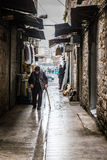 Old man in Istanbul, Turkey Stock Photo