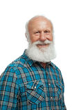 Old man with a long beard Stock Photo