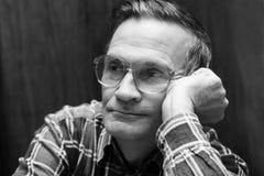 Old Man Look - Senior Portrait stock photography