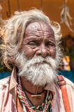 Old Man from Mamallapuram Stock Photo