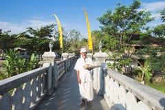 Old man monk Stock Image