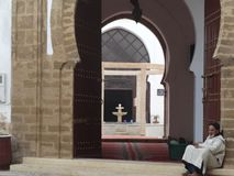 Street scene of Essaouira medina, Morocco Stock Image