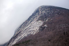 Old Man In The Mountain Site in Franconia Notch NH Stock Photos