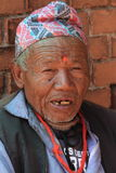 Old Man from Nepal Royalty Free Stock Photos