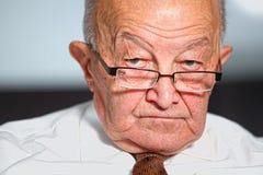 Old man portrait Royalty Free Stock Photo