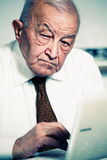 Old man portrait Royalty Free Stock Images