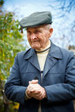 Old man portrait Stock Images