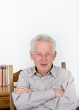 Old man portrait Stock Image