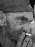 Old man portrait Royalty Free Stock Image