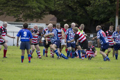Old Man Rugby Royalty Free Stock Images