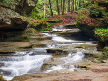 Free Old Man S Cave Middle Falls Stock Image - 30997031