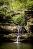 Old Man's Cave Waterfall Royalty Free Stock Image
