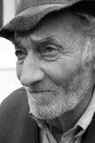 Sad old man. With a beard stock photography