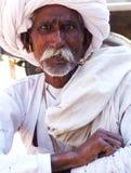Old man, Samode, Rajasthan, India Royalty Free Stock Photo