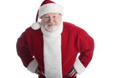 Old man santa Royalty Free Stock Photography