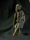 Old Man Sculpture Africa Royalty Free Stock Photo