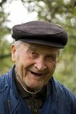 Old Man Smiling. Portrait of an Old Man Smiling To Camera stock images