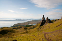 Old Man of Storr Royalty Free Stock Photography