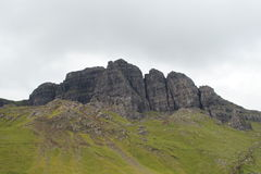 Old Man of Storr. The Old Man of Storr found on the Isle of Skye in the Scottish highlands Stock Photos