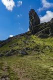 The Old Man Of Storr Isle of Skye. At sunny day in autumn Stock Images