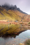 Old Man of Storr Reflections Stock Photos