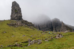 Old man of Storr Stock Images