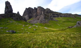 Old man of storr, scotland Stock Photography