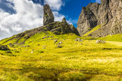 Old man of Storr, Scotland, UK Stock Photos