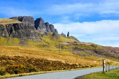 Old Man of Storr, Scotland Stock Photo