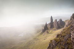 The old man of Storr, Skye Royalty Free Stock Images