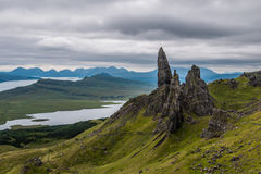 The Old Man of Storr, Skye. In Scotland Royalty Free Stock Photography