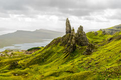 Old man of Storr and The Storr Stock Photo