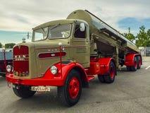 Old MAN truck Stock Photos
