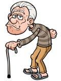 Old man. Vector illustration of Cartoon Old man Royalty Free Stock Image