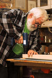Old man working Royalty Free Stock Photo