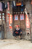 The old man yao. Old man yao, China's ethnic minorities Royalty Free Stock Images