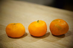Old mandarins Stock Photo