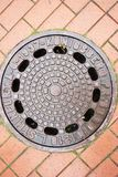 Old manhole Stock Image