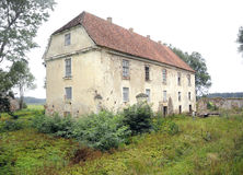 Old manor house  Nereta, Latvia Stock Photos
