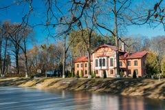 Old manor house in village Korenevka in Gomel region, Belarus Stock Image