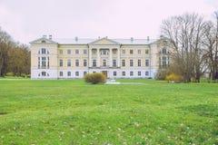 Old manor in Latvia, Mezotne. Stock Photography