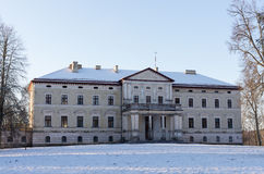 Old manor. Old palace - manor Plinkses in Lithuania Stock Photography