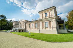 Old manor. Old palace - manor Renavas in Lithuania Stock Photos