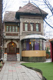 Old manorial house. In mint condition in Bucharest Stock Photos