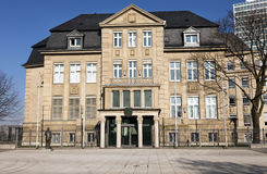 Old mansion. The building of the State Chancellery of North Rhine-Westphalia and office of the president of NRW, Johannes-Rau-Platz, Dusseldorf, Germany Stock Photos