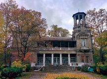 Old mansion. Abandoned house in Odessa Stock Photography
