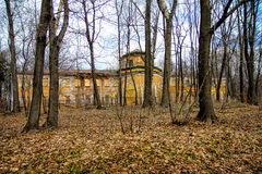 Old mansion in autumn wood Stock Image