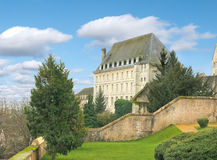 Old mansion in Chartres. Stock Photos